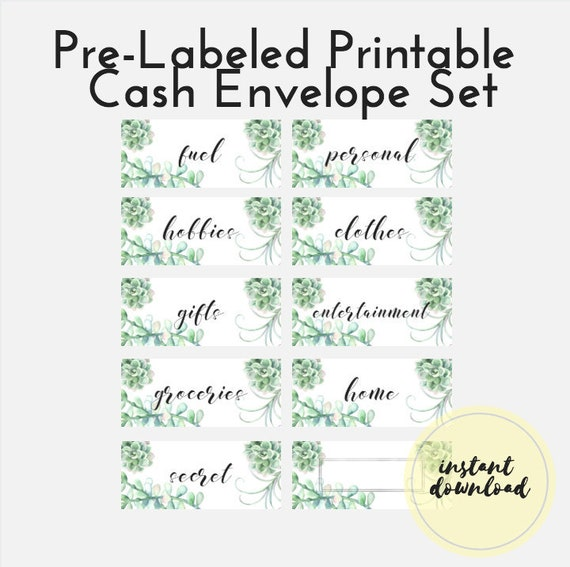 image about Printable Cash Envelopes named PRINTABLE Revenue Envelope, Pre-Categorized Hard cash Envelope Template, Dave Ramsey Envelope Course of action, Income Envelope Do it yourself, Funds, Funds Procedure, Tracker