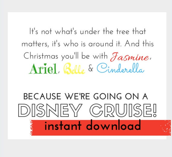 graphic relating to Disney Countdown Printable titled Disney Cruise, Disney Card Printable, Disney Vacation Make clear, Disney Countdown, Speculate Disney Getaway, Wonder Holiday, Disney Question