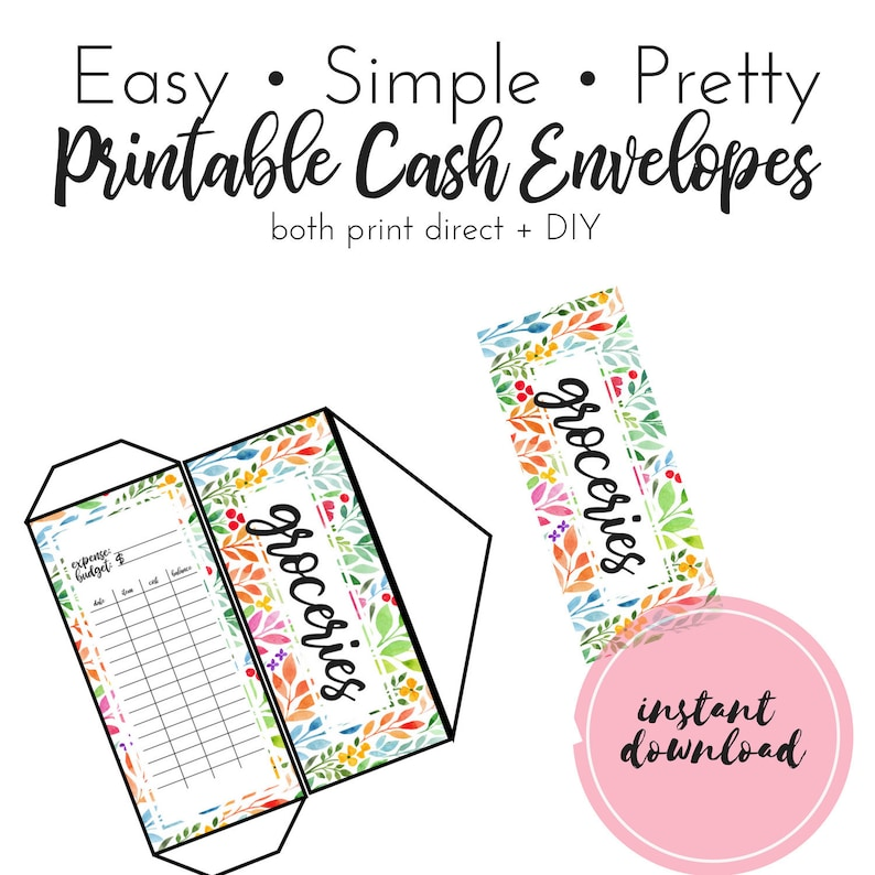 image about Printable Money Envelope called PRINTABLE Income Envelopes, Money Envelopes, Income Envelope Course of action Template, Do it yourself Price range Envelopes, Dave Ramsey Printable Money Envelope,