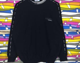 Rare !! KENZO GOLF Sweatshirt Small Logo 4 size Embroidered Jumper