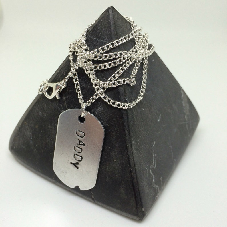 Daddy gift ddlg gift mens gift mens necklace Daddy Necklace long necklace mens dog tag daddy gifts Father Gift mens necklace dom