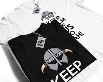 Keep Calm and Fus Ro Dah T-Shirt - Skyrim