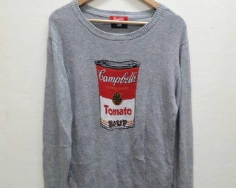 Hare x Campbells Tomato Soup Knitwear Jumper sweater