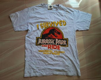 Vintage Jurassic Park The Ride Tshirt