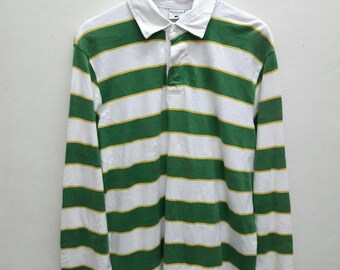 Columbia Polo Tee shirts Rugby stripes Outdoor Active Large Size long sleeve