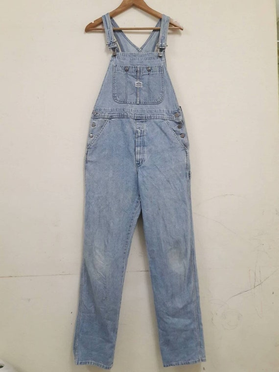 Big John Overall Denim Jeans pant casual workwear