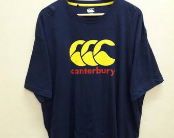 Canterbury Big Logo Tee Shirts XL size