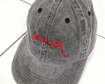 Metallica Band embroidered Cap Dad Hat sun Visor