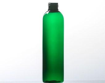 Vert ou ambre balle ronde 236ML ou 8OZ bouteille rechargeable PET - Pack 8 - sans BPA