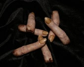 Silicone Severed Witch Finger Prop