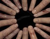 Silicone Severed Finger Prop