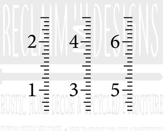 Growth chart svg | Etsy