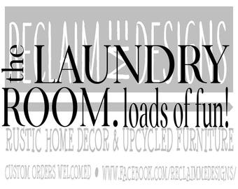 The laundry room. loads of fun! JPEG,PNG, and SVG file