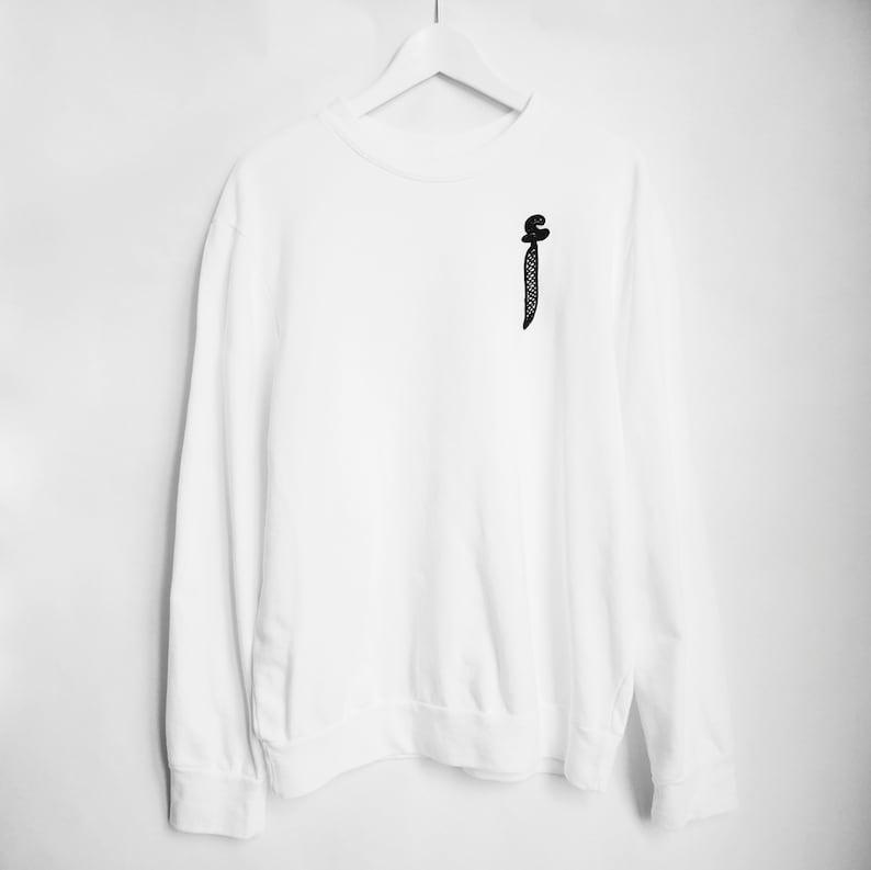 Gifs Her العربية AlifSweat الكلمة Arabe Mot Inspirational Arabic Sweatshirt For Letter Lettre Pulll Ramadan البلوز uFTKcl1J3