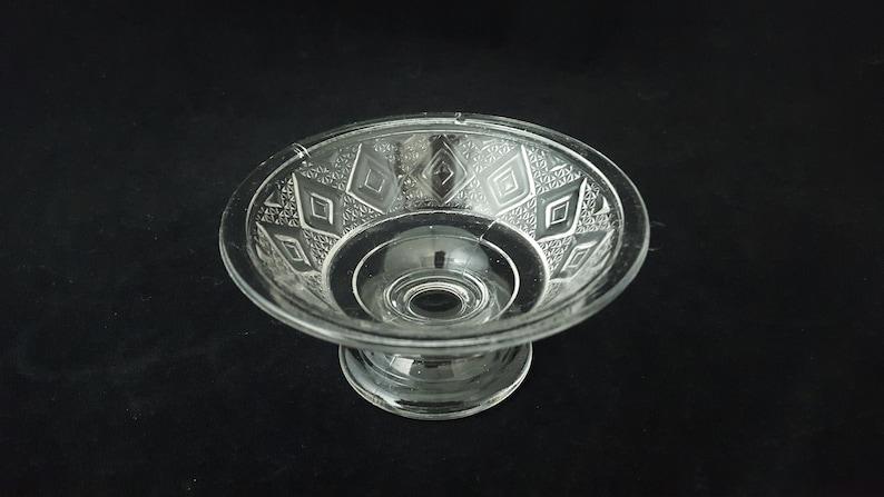 EAPG Diamond Flint later Dominion Glass Company ~ Vintage c.1880/'s-1920/'s Diamond Medallion Glass