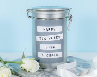 Tin 10th Anniversary Gift