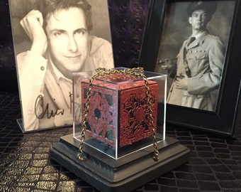 Hellraiser Puzzle Box: LeMarchand Lament Configuration (Small, Limited Edition Red)