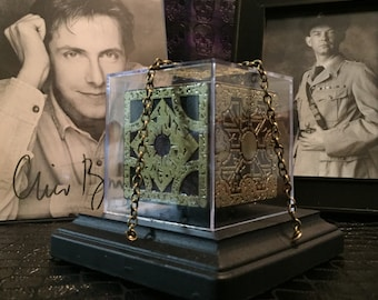 Hellraiser Puzzle Box: LeMarchand Lament Configuration (Small, Gold)
