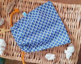 custom reusable coated pouch
