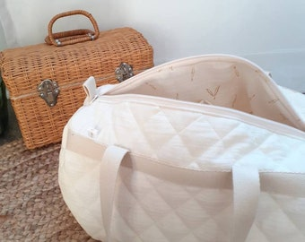 Changing bag, cotton quilted child bag