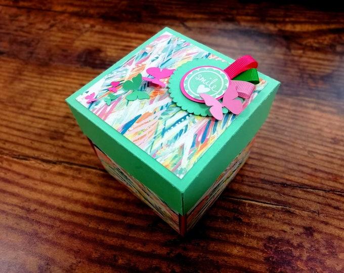 Birthday gift for him / her | Birthday Box | Birthday Card for him / her | Explosion Box | Gift Box | Photo box