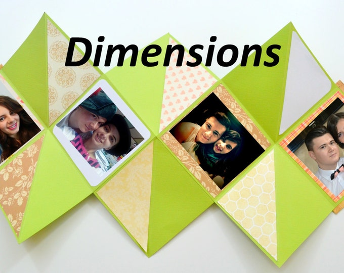 Squash Book - Photo album - Dimensions