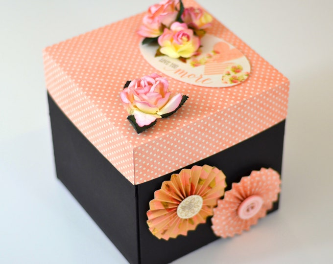 Explosion Gift Box | Valentine Gift / Anniversary Gift | Photo Album | Explode Gift Box for Partner