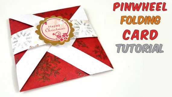 Tutorial pop up card for christmas red blue etc step by etsy image 0 m4hsunfo