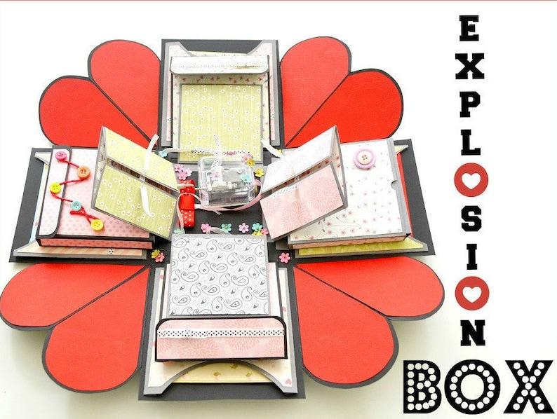 Anniversary Explosion Gift Box for Boyfriend Girlfriend  image 0