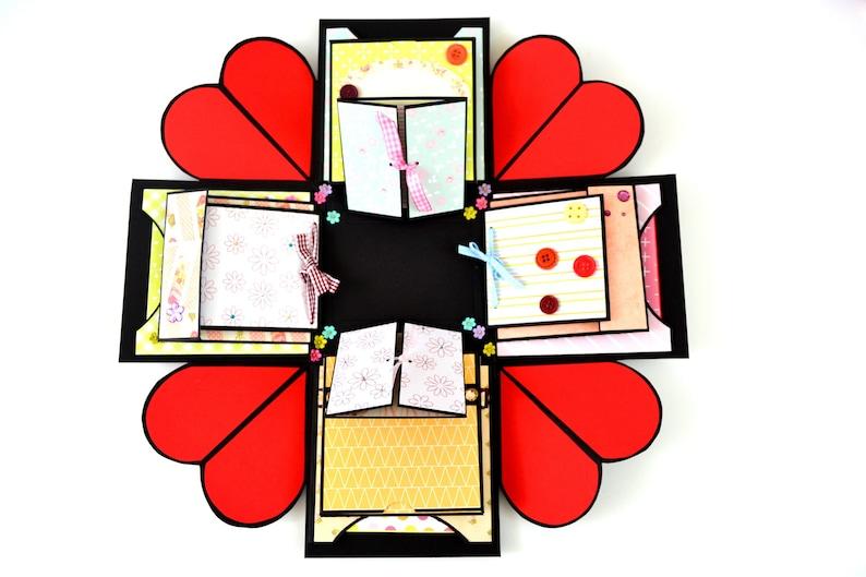 Anniversary Explosion Gift Box for boyfriend  Valentines gift image 0