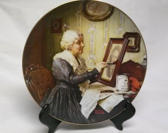 """Collectors Plate """"Grandma's Love"""""""