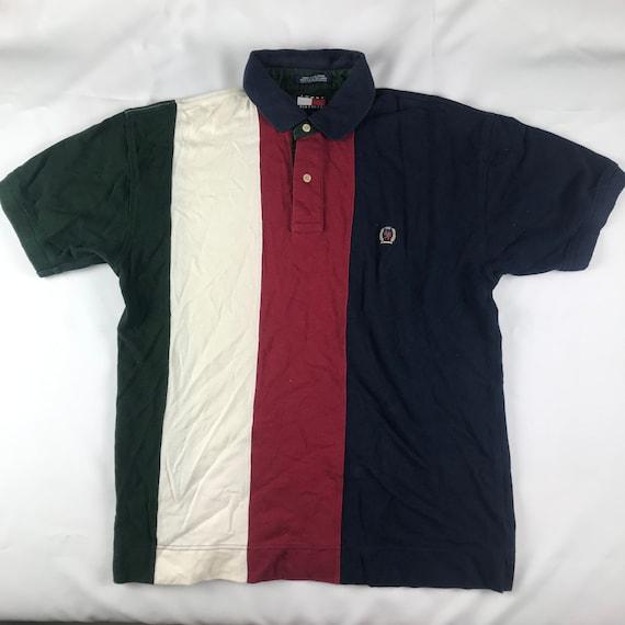 5333666b3 Vintage Tommy Hilfiger Polo Shirt size. L   Etsy