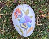 Vintage Porcelain Limoges Egg Trinket Dish