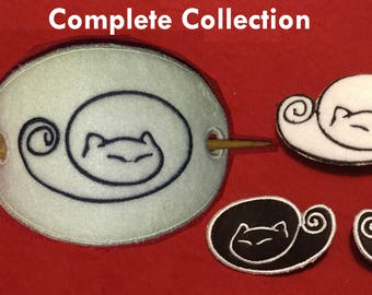 Cat Hair Clip Collection