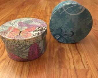 Circle Trinket and Gift Box