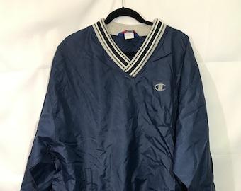c7b04bb86e51 Vintage Champion Windbreaker Pullover