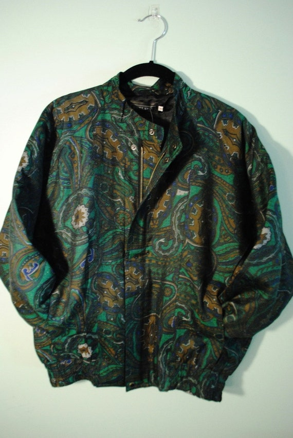 Paisley Zip Jacket