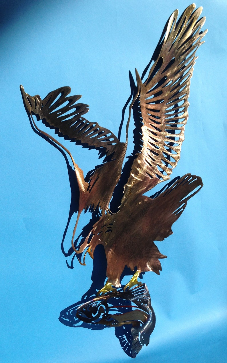 Metal Wall Art Eagle Home Decor Decorations