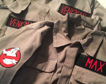 Ghostbusters costume child's suit custom made