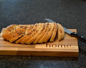 Home Chopping / Bread Board - Personalise Coordinates