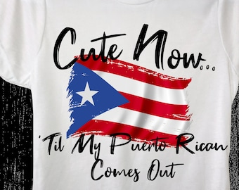 2619575ed Ladies Puerto Rico Flag T-shirt