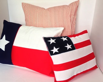 Americana Patriotic Pillow Covers