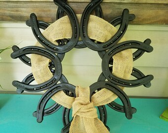 Horseshoe Wreath