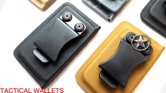 Kydex Tactical Operator card wallet EDC with money clip