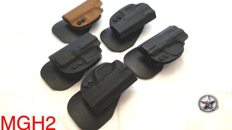 REGULATOR TACTICAL Glock 17 19 20 21 22 23 26 27 30s 31 32 33 34 35 17L 42  43 kydex tactical OWB paddle holster