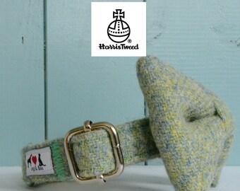 Genuine Harris Tweed Dog Collar 'The Nairne' with choice of buckle