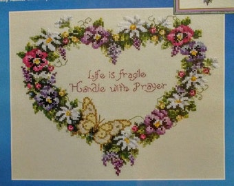 Janlynn Life is Fragile Counted Cross Stitch #80-454