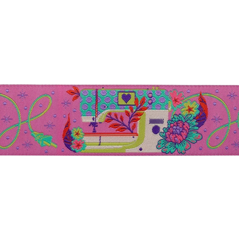 Evening Pink-Tula Pink 1-12 Pedal to the Metal by the yard