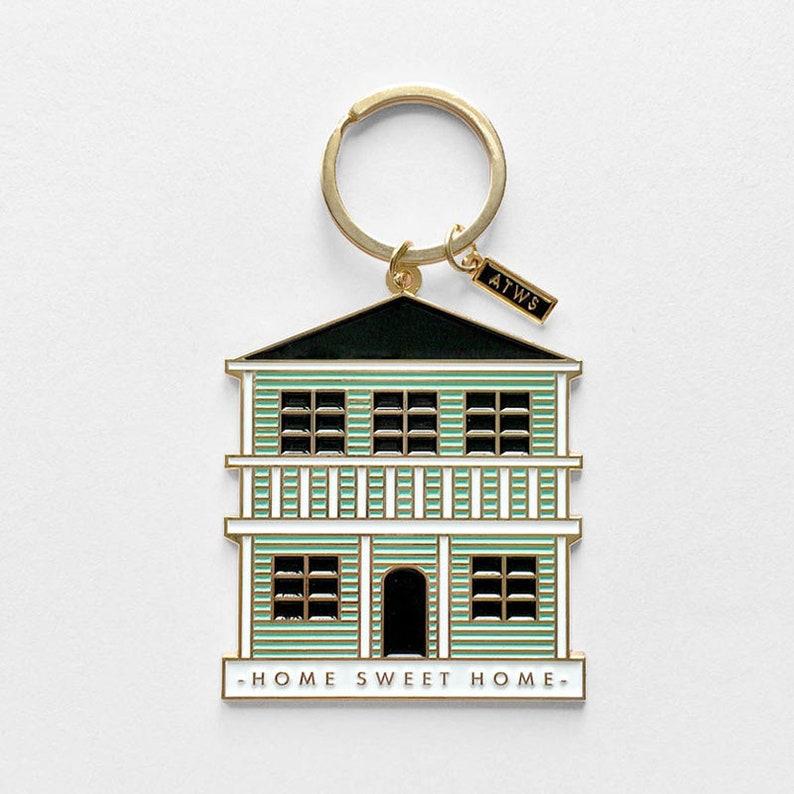 Keychain  Home Sweet Home image 0
