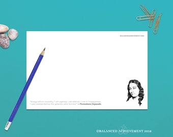 Yogananda, Paramahansa Yoganada, motivational note pads, inspirational notepad, spiritual quotes, notepad, Yogananda QuotePad™